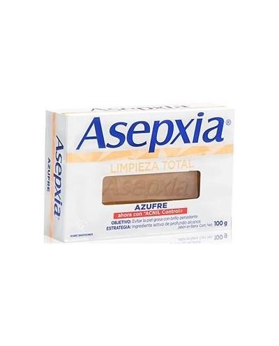 Asepxia Jabón Azufre