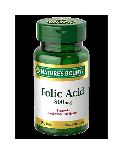 Acido Folico (Natures Bounty)