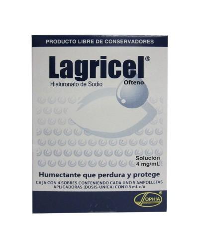 Lagricel (Hialuronato de...