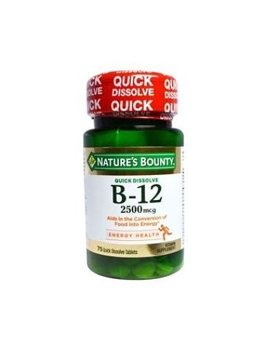 Vitamina B12 (Nature´s Bounty)