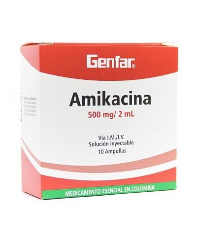 Amikacina (Genfar)