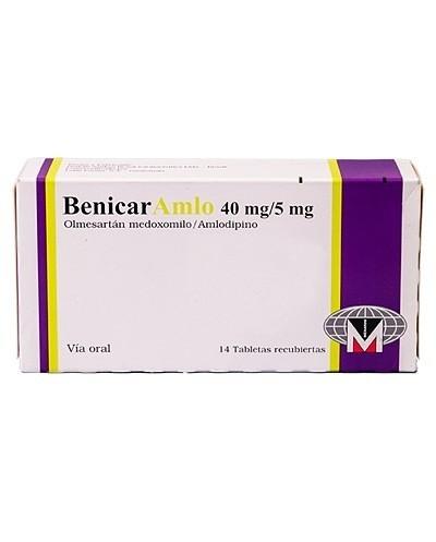 Benicar Amlo 40 mg/ 5 mg