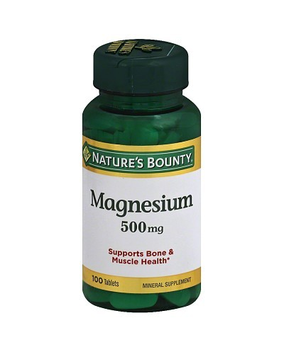 Magnesium (Nature´s Bounty)