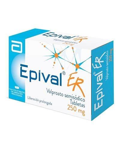 Epival ER (Valproato...