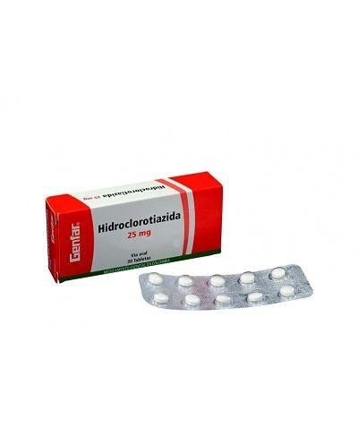 Hidroclorotiazida (Genfar)