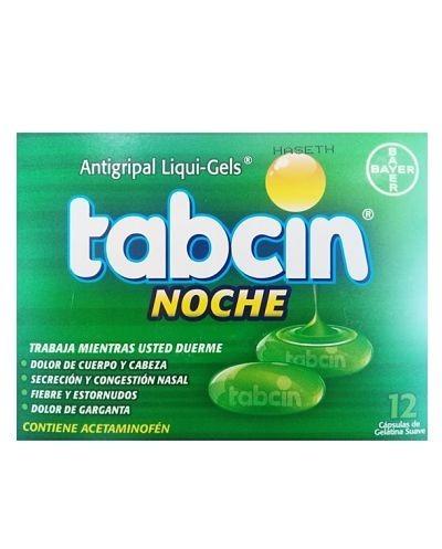 Tabcin Noche (Acetaminofen)