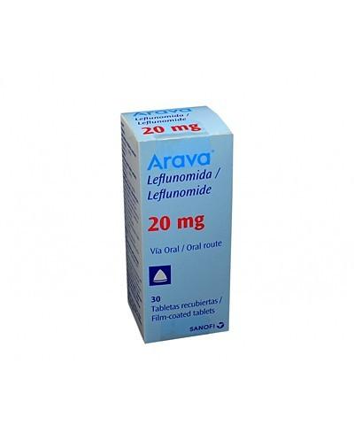 Arava 20 mg (Leflunomida)
