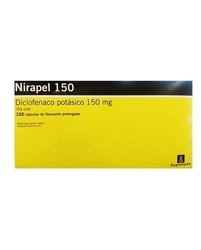 Nirapel (Diclofenaco Potasico)