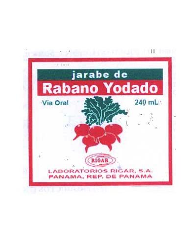 Rabano Yodado (Rigar)