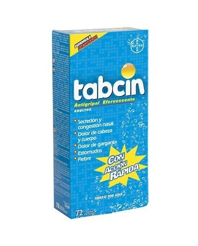 Tabcin Antigripal (Bayer)