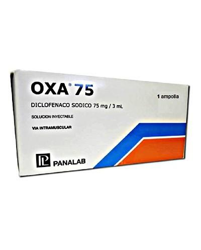 Oxa 75 (Diclofenaco Potasico)