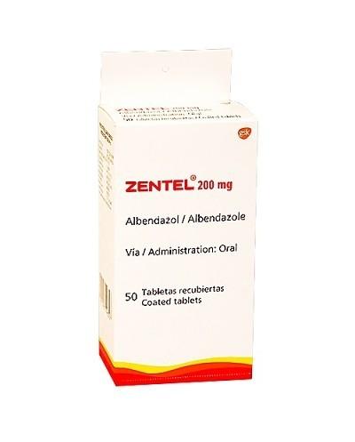Zentel (Albendazol)