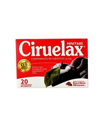 Ciruelax (Minitabs)