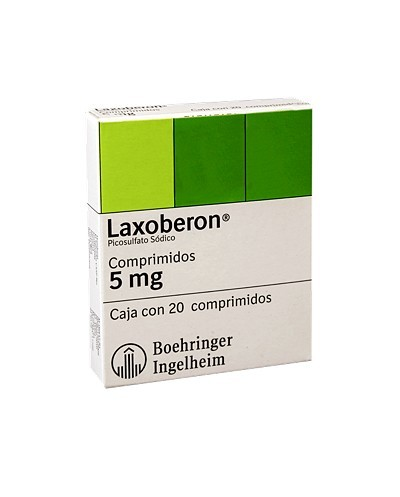 Laxoberon (Picosulfato Sódico)