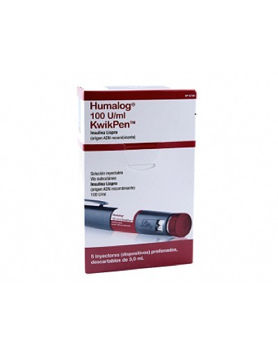 Humalog Kwik Pen (Insulina...