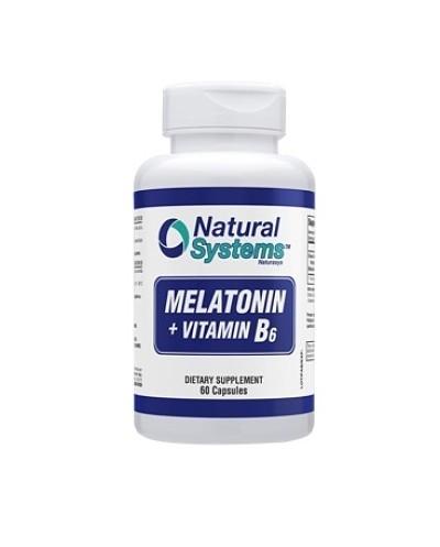 Melatonina + B6 (Natural...