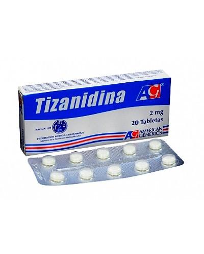 Tizanidina (American Generics)