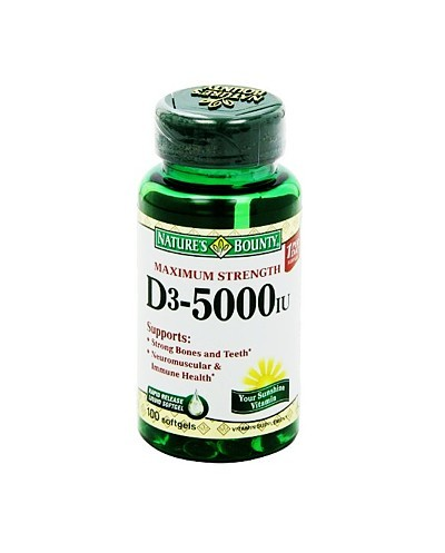 Vitamina D3 (Nature´s Bounty)