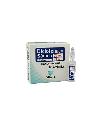 Diclofenaco Sodico (Vitalis)