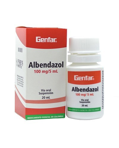 Albendazol Suspension (Genfar)