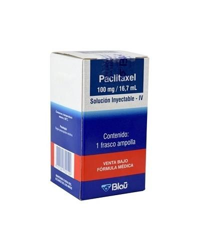 Paclitaxel (Blau)