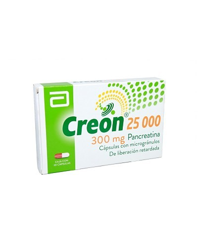 Creon 25 000 UI (Pancreatina)