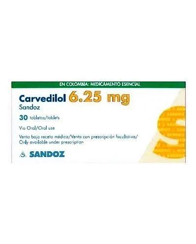 Carvedilol (Sandoz)