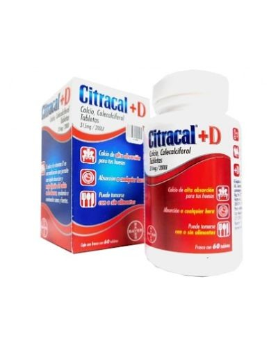 Citracal+D (Calcio/Vitamina D)
