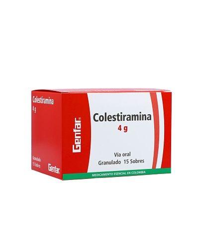 Colestiramina (Genfar)