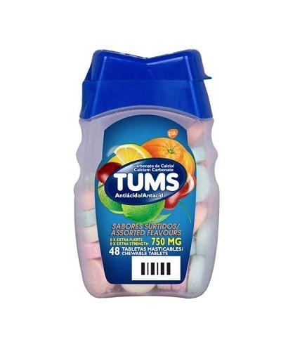 Tums (Carbonato de Calcio)