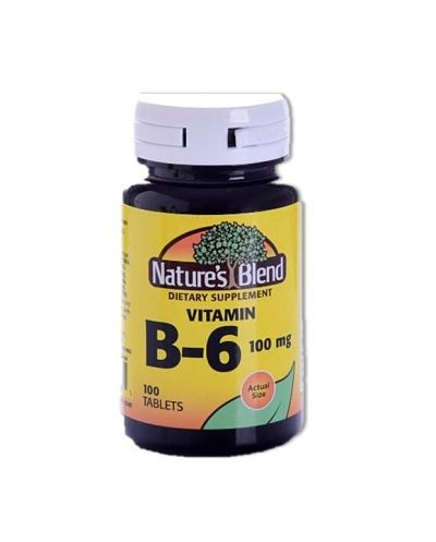 Vitamina B6 (Natural Blend)
