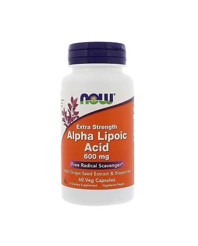 Acido Alpha Lipoíco (Now)