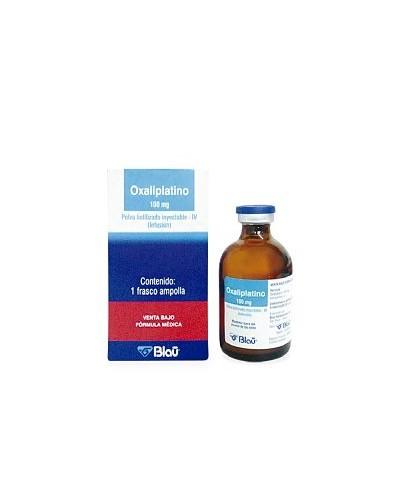 Oxaliplatino (Blau)