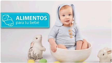 Alimentos para tu bebé